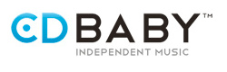 CD Baby logo and link